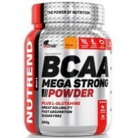 Nutrend BCAA Mega Strong Powder 500 g. (апельсин)