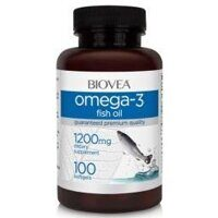 BIOVEA Omega 3 fish oil 1200 mg. 100 caps.