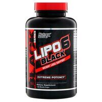 Nutrex Lipo 6 Black weight loss support 120 caps.