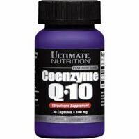 Ultimate Coenzyme Q10 100% premium 100 mg.