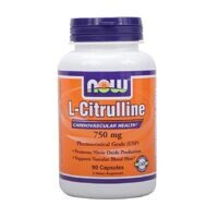 NOW L-Citruline 750 mg. 90 caps.