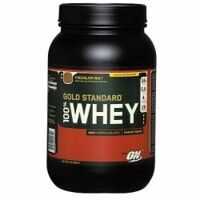 Optimum 100 % Whey Gold Standart 909 g. (молочный шоколад)
