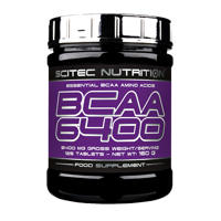 Scitec Nutrition BCAA 6400 125 tbl