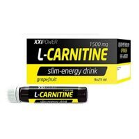 XXI Power L- Carnitine 1500 mg. 9 бутылочек
