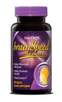 Natrol BrainSpeed Memory 60 tab.