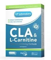 VP Lab CLA+ L- Carnitine 45 caps.