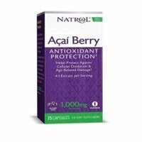 Natrol Acai Berry 1000 mg. 75 caps.