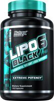 Nutrex Lipo 6 Black Hers powerful 120 caps.