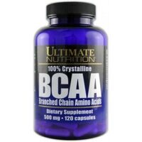 Ultimate 100% Crystalline BCAA 120 caps.