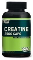 Optimum Nutrition Creatine 200 caps.