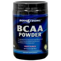 Body Strong BCAA Powder 395 g. ( 55 порций ) (ягода)