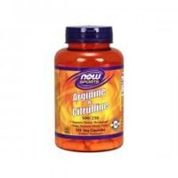 NOW Arginine 500 mg. & Citruline 250 mg. 120 caps.