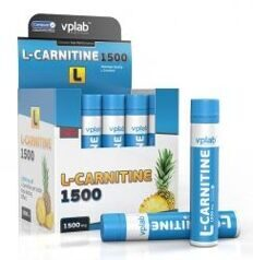 VP Lab L- Carnitine 1500 mg. 20 amp.