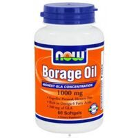 NOW Borage Oil 1000 mg. 60 softgels