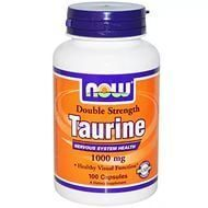 Now Taurine 1000 mg. 100 caps.
