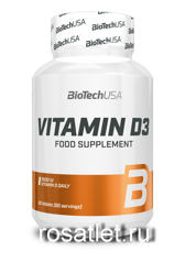Bio Tech USA Vitamin D3 2000 IU 60 tab.