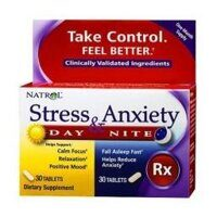 Natrol Stress & Anxiety Day & Nite 60 tab.