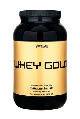 Ultimate Whey Gold 908 g. (ваниль)
