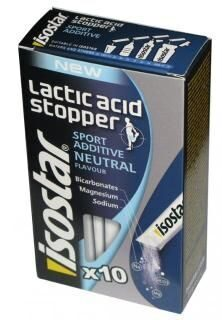 Isostar Powder Lactic Acid Stopper 7.1 g. 10 pac.