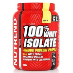 Nutrend 100 % Whey Isolate 900 g.