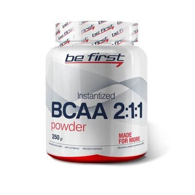 Be First BCAA 2:1:1 Instantized powder 250 g. (лимон)