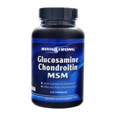 Body Strong Glucosamine Chondroitin MSM 240 caps.