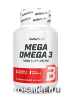Bio Tech Mega Omega 3 90 caps.