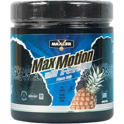 Maxler Max Motion with L-Carnitine 500 g. абрикос-манго