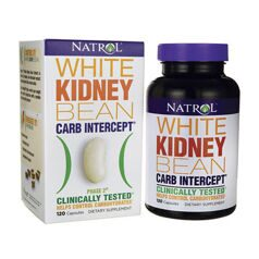 Natrol White Kidney Bean carb intercept 60 caps.