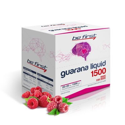 Be First Guarana Liquid 1500 X 20 amp.