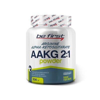 Be First AAKG 2 :1 powder 200 g. (апельсин)