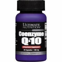 Ultimate Coenzyme Q10  100 mg. 30 caps.