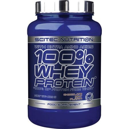 Scitec Nutrition 100 % Whey Protein 920 g. (шоколад - мята)