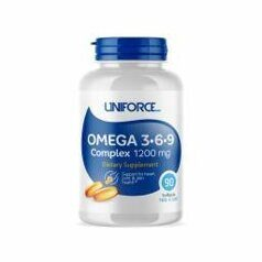 Uniforce Omega 3-6-9 1200 mg. 120 caps.