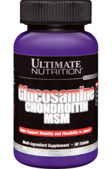 Ultimate Glucosamine & Chondroitin & MSM 90 tab.