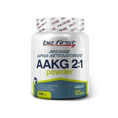Be First AAKG 2 :1 powder 200 g. (малина)