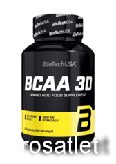 Bio Tech BCAA 3D 90 caps.