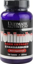 Ultimate Nutrition Yohimbe Bark 800 mg. 100 tab.