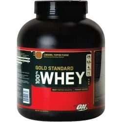 Optimum 100 % Whey Gold Standart 2.27 kg. (клубника)