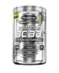 Muscle Tech Platinum 100% BCAA 8:1:1 200 caps.