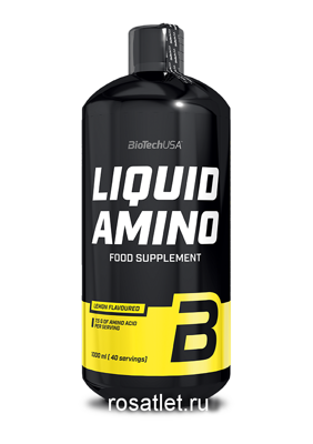 Bio Tech Liquid Amino 1000 ml. лимон