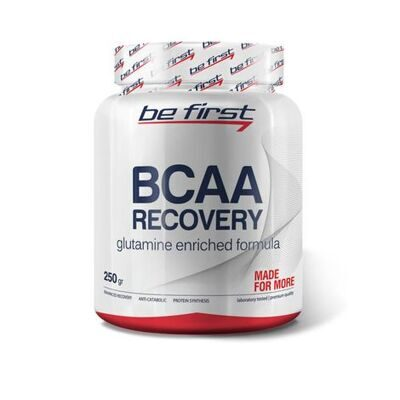 Be First Recovery powder 250 g. (малина)