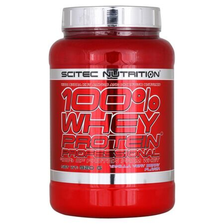 Scitec Nutrition 100 % Whey Protein Professional 920 g. (банан)